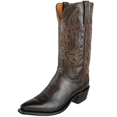 1883 by Lucchese Men's N1556.54 Western Boots,Chocolate Burnish,8 D(M)US