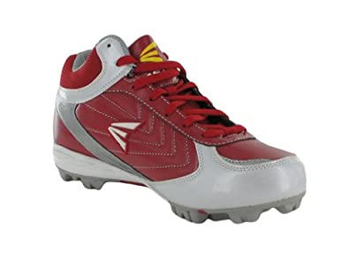 Buy Easton Mens Rival MD Red Silver Team Baseball Cleats by Easton