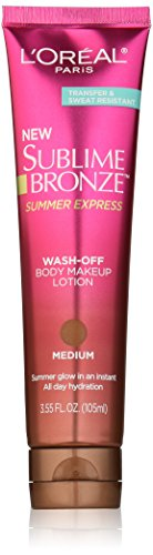 L'Oreal Paris discount duty free L'Oreal Paris Sublime Bronze Summer Express, 3.55 Fluid Ounce