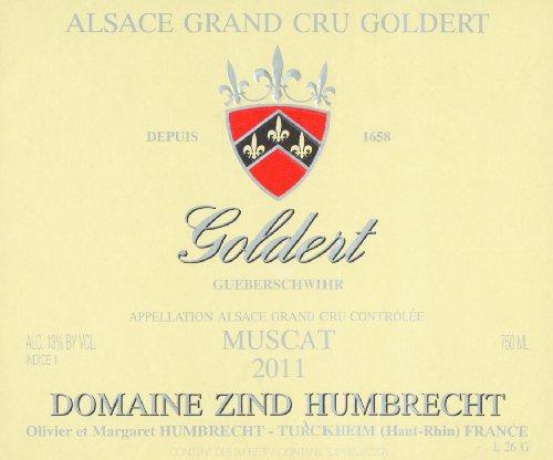 2011 Domaine Zind Humbrecht Alsace Muscat Goldert Grand Cru 750 Ml