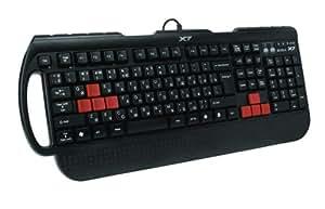 A4-Tech G-700 Profi Gaming Tastatur USB mit PS/2 Kombi