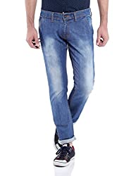 Raw Denim Medium Blue Slim fit Jeans