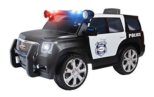Rollplay 6V GMC Yukon Police SUV Child's Battery Ride-On