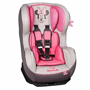 minnie mouse booster car seat car interior design. Black Bedroom Furniture Sets. Home Design Ideas