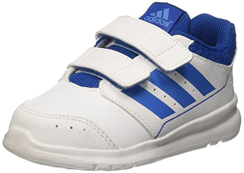 Adidas Lk Sport 2 Cf I Scarpe Walking Baby, Bambino, Multicolore (Ftwwht/Supblu/Eqtblu), 20