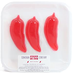 Ghost Pepper - Bhut Jolokia - Gummy Candy