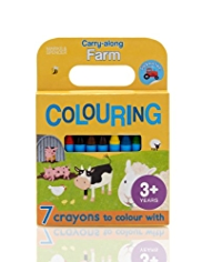 Farm Colouring & Sticker Book
