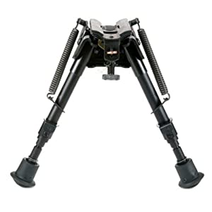 Harris Engineering S-BRM Hinged Base 6 - 9-Inch BiPod by Harris Engineering