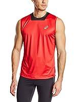 Asics Camiseta Tirantes Athlete Singlet (Rojo)