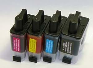 【brother LC09-4PK (ブラザープリンター用互換インク)】汎用インクカートリッジ 4色セット