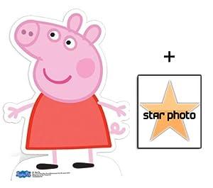 Amazon.com: Fan Pack - Peppa Pig Lifesize Cardboard Cutout / Standee