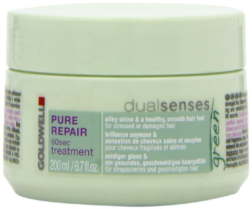 Goldwell Dualsenses Green Pure Repair 60 Sec Treatment for Unisex, 6.7 Ounce (Goldwell Repair Conditioner compare prices)