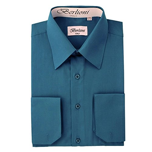bdss-teal-16-34-1-berlioni-mens-solid-dress-shirt-16-neck-x-34-35-sleeve-teal