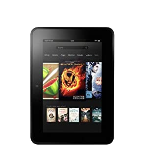 Kindle Fire HD 7, 17 cm (7 Zoll), Dolby-Audio-Technologie,  Dualband-WLAN �ber zwei Antennen, 16 GB - Mit Spezialangeboten [Vorg�ngermodell]
