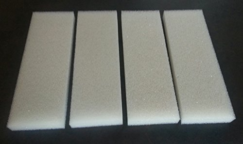4-x-Schaumstoff-Fluval-Qualitt-kompatibel-U4-Schwamm-Media