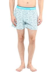Mens BLUE Boxer