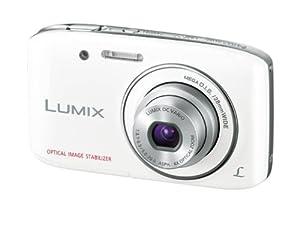 Panasonic デジタルカメラ ルミックス S2 光学4倍 ホワイト DMC-S2-W