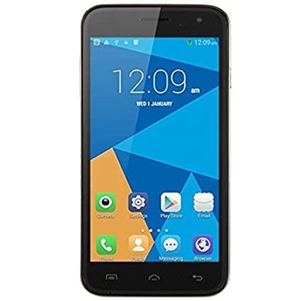 "iDroid Tango A5 3G et 4G Ready Smartphone Débloqué Android 4.4 Quad Core MTK6582 1.3GHz 1Go RAM 8Go ROM 5.0"" IPS Capacitif Ecran Dual Caméra Frontal 2.0MP Caméra Arrière 8.0MP Dual SIM Cartes Dual Veilles GPS WIFI B"