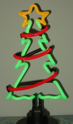 Neonetics Christmas Tree with Garland Neon Sculpture 0