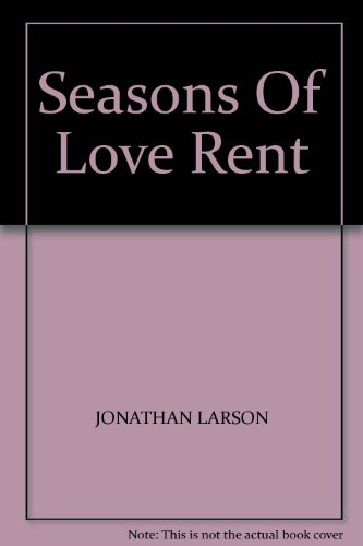 Seasons Of Love Rent (Rent Piano Sheet Music compare prices)