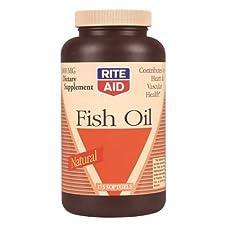 Rite Aid Fish Oil, Softgels, 175 ct.