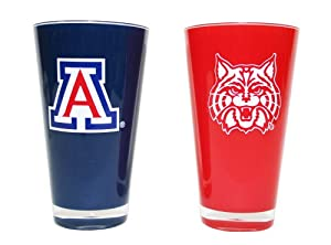 Buy NCAA Arizona Wildcats 20-Ounce Insulated Tumbler - 2 Pack by Duck House