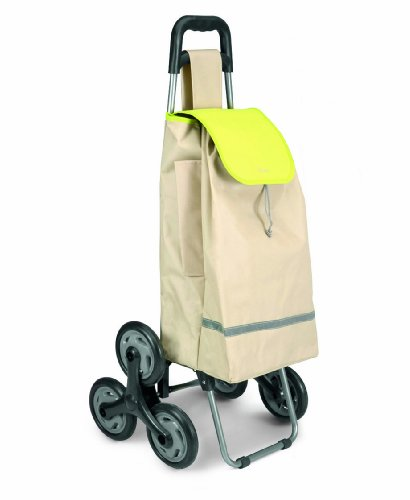 Metaltex USA Inc. Poppy Shopping Cart, Beige