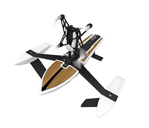 パロット ミニ ドローン ハイドロフォイル 水空両用ロボット ニューZ (ホワイト) [並行輸入品]