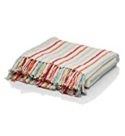 Paradise Striped Throw