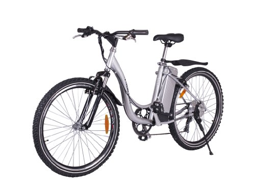 X-Treme Xb-305Sla Ladies Step Through Electric Mountain Bicycle (Aluminum Color)