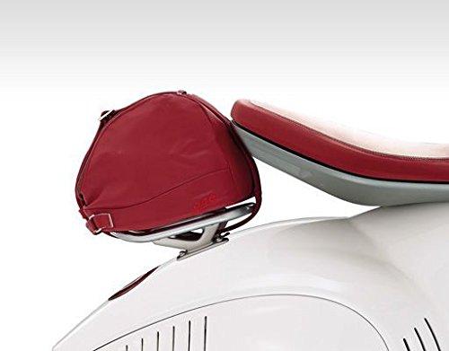 Original Vespa 946 Helmtasche Kunstleder rot