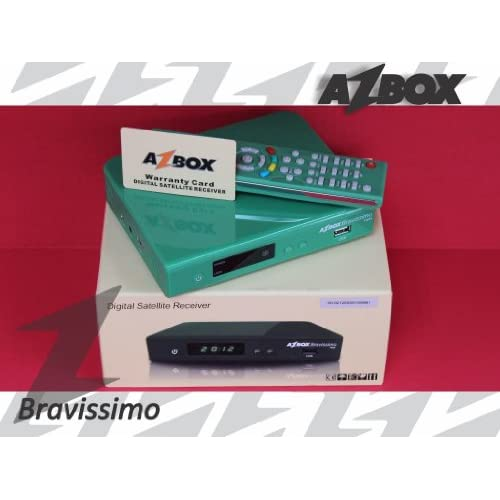 Azbox Bravissimo Twin HD   Green Electronics