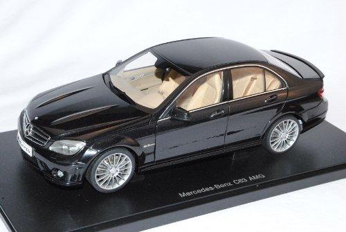 Mercedes-Benz C-Klasse C63 AMG Limousine Schwarz W204 Ab 2007 76268 1/18 AutoArt Modell Auto