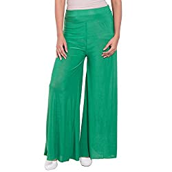 Diva Boutique Women's Palazoo (gl-04_Green_30)