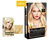 L'Oreal Recital Preference Hair Colour 10 Scandinavia Lightest Blonde