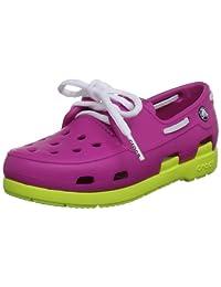 crocs Kids' Beach Line Boat Shoe