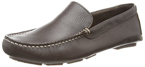 Hush Puppies Monaco_Mt,  Marrone Brown (Brown Leather) 46