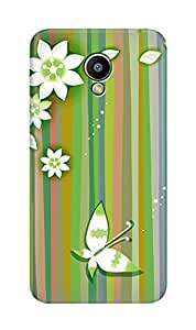 ZAPCASE PRINTED BACK COVER FOR MEIZU M2- Multicolor