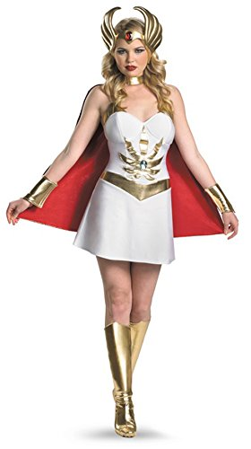 Master's of the Universe She Ra Adult Deluxe Costume Size:Small (4-6)