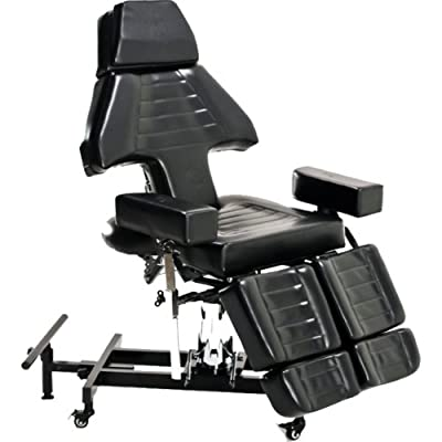 InkBed Hydraulic Client Tattoo Bed Chair Massage Table Ink Bed Studio Salon Equipment