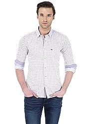 Basics Men's Formal Shirt (8907054400720_14BSH31265_Purple_M)