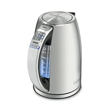 The PerfecTemp for Every Occasion Equipped with 1500 watts of power for fast heating, this electric kettle brings up to 1-2/3 liters of water to a rolling boil in a matter of minutes. Better than that, it offers six different preset heat settings, w...