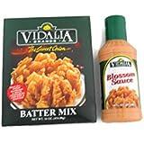 Vidalia Brands Sweet Onion Batter Mix And Blossom Sauce