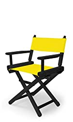 Telescope Casual Childs Director Chair, Canary with Black Frame