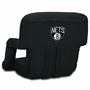 NBA Brooklyn Nets Ventura Portable Reclining Seat by Picnic Time