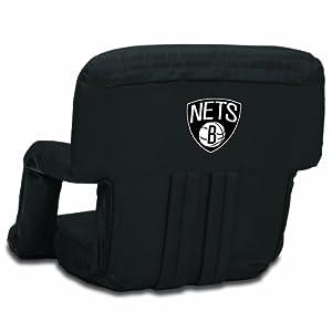 NBA Brooklyn Nets Ventura Portable Reclining Seat by Picnic Time