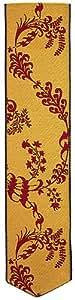 Jacquard tissé marque-page en Soie - Floral