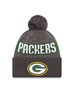 NFL Green Bay Packers 2016 Sport Knit Beanie, One Size, Graphite