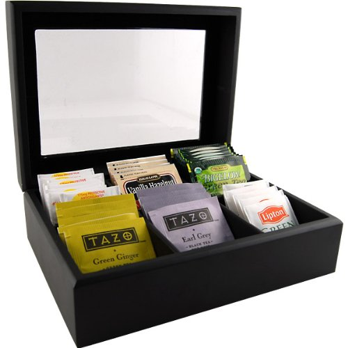 Wooden Tea Bag Chest (Display Case For Tea compare prices)