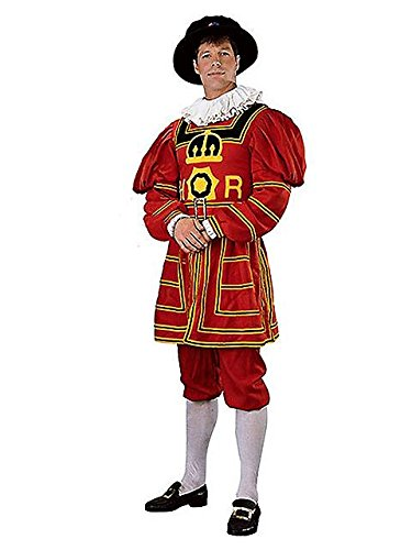 [Rubies Costume Co R90835-M Mens Regency Collection Beefeater Costume MEDIUM] (Beefeater Costumes)